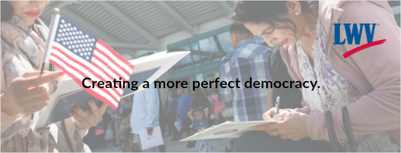 Creating a more perfect democracy graphic
