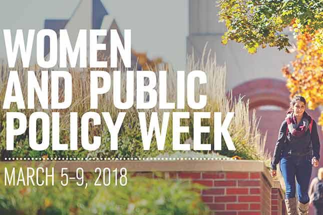 women in public policy
