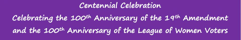 Centennial Events
