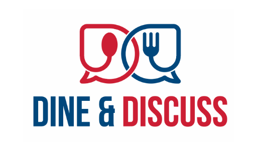 dine and discuss logo