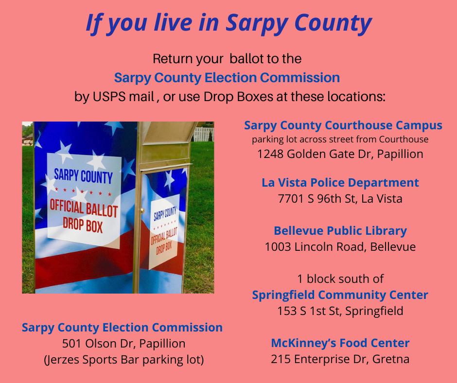 Sarpy County Drop Box Locations