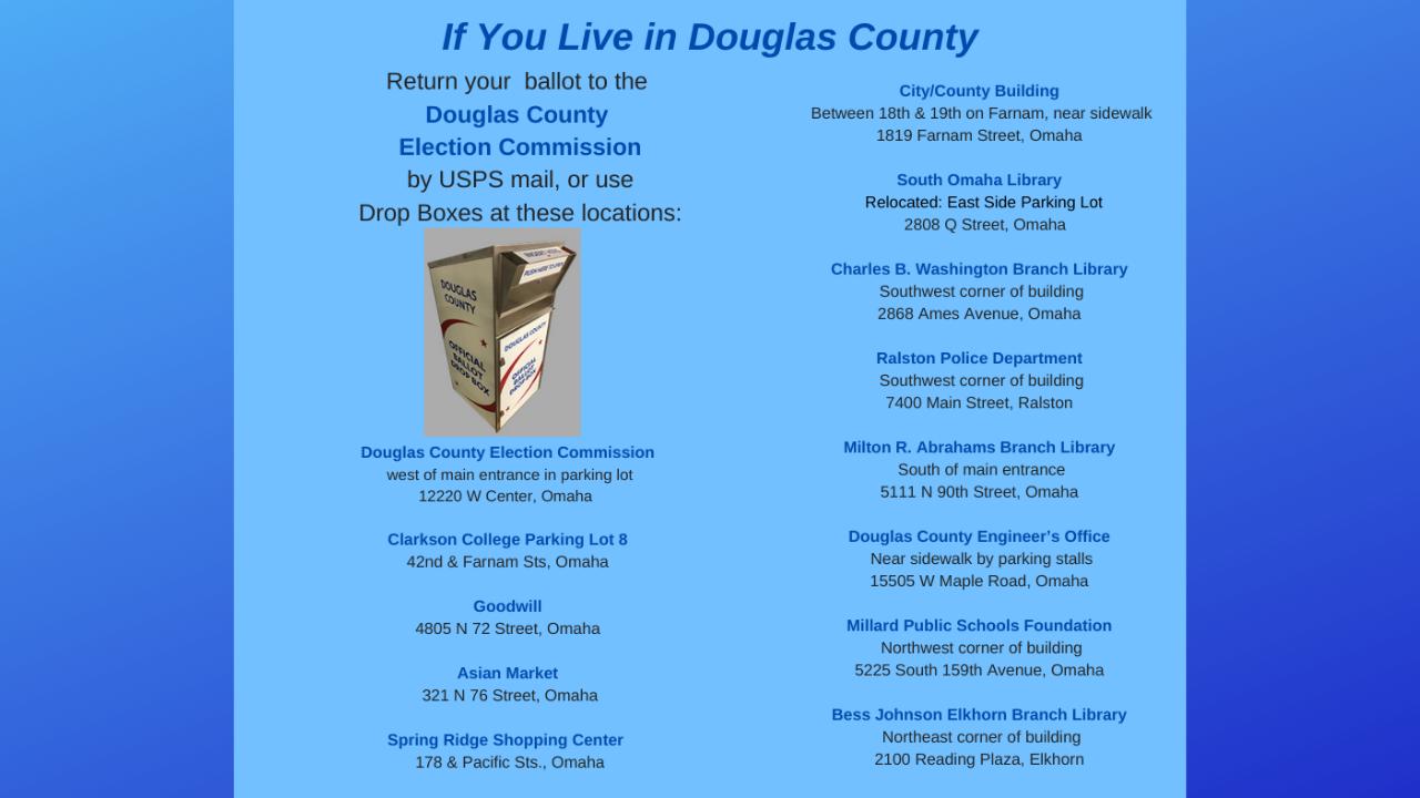 Douglas County Drop Boxes