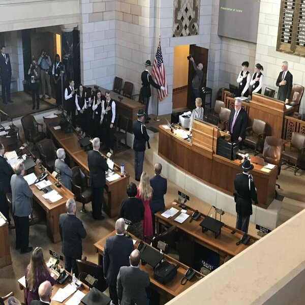 Photo of 1st day of 107th Unicameral