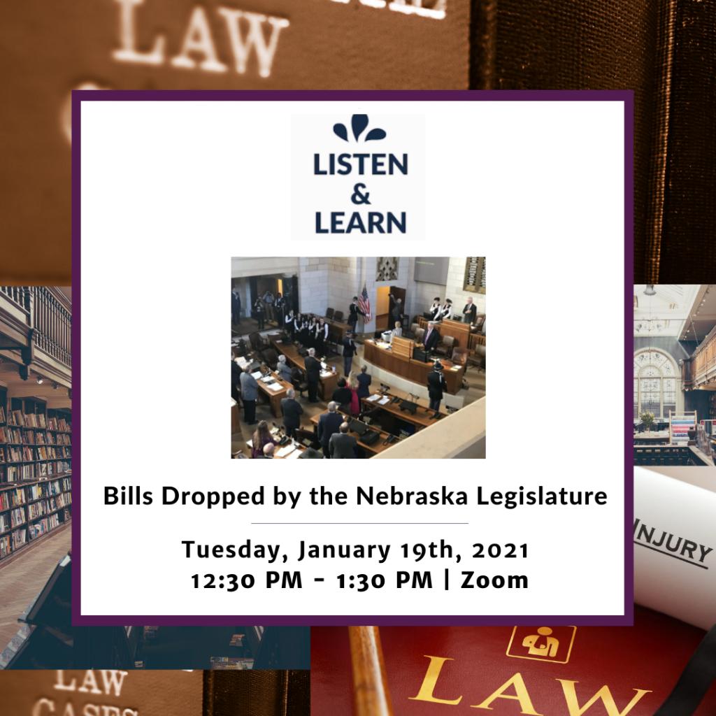 Listen & Learn Jan 2021