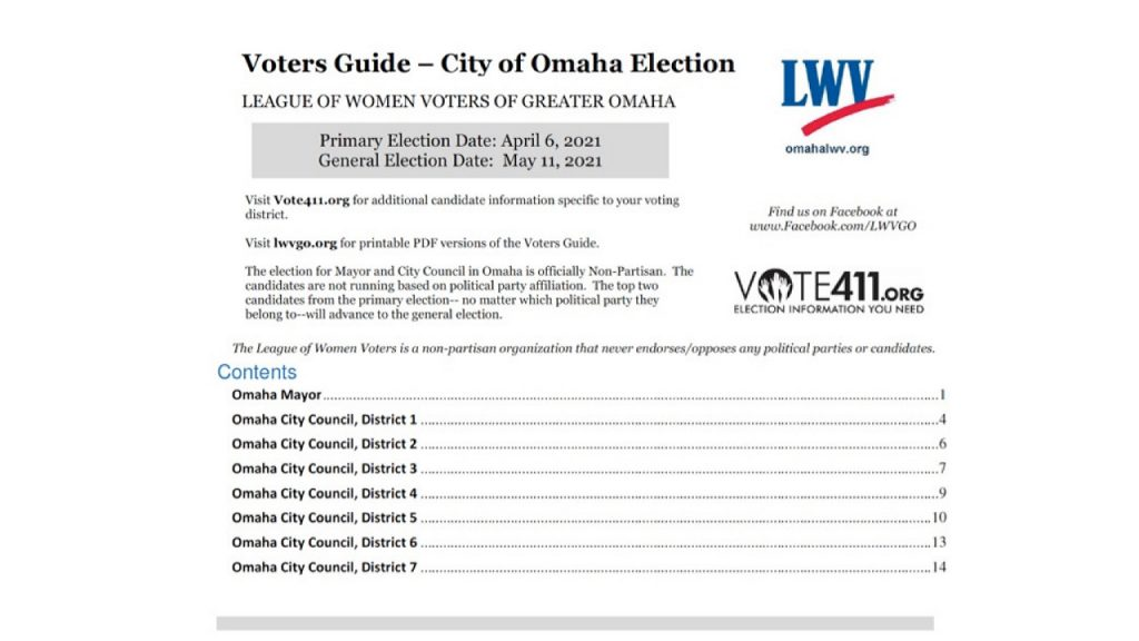 LWVGO 2021 Voters Guide