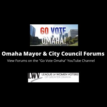 Omaha Mayor & City Council Forums Graphic