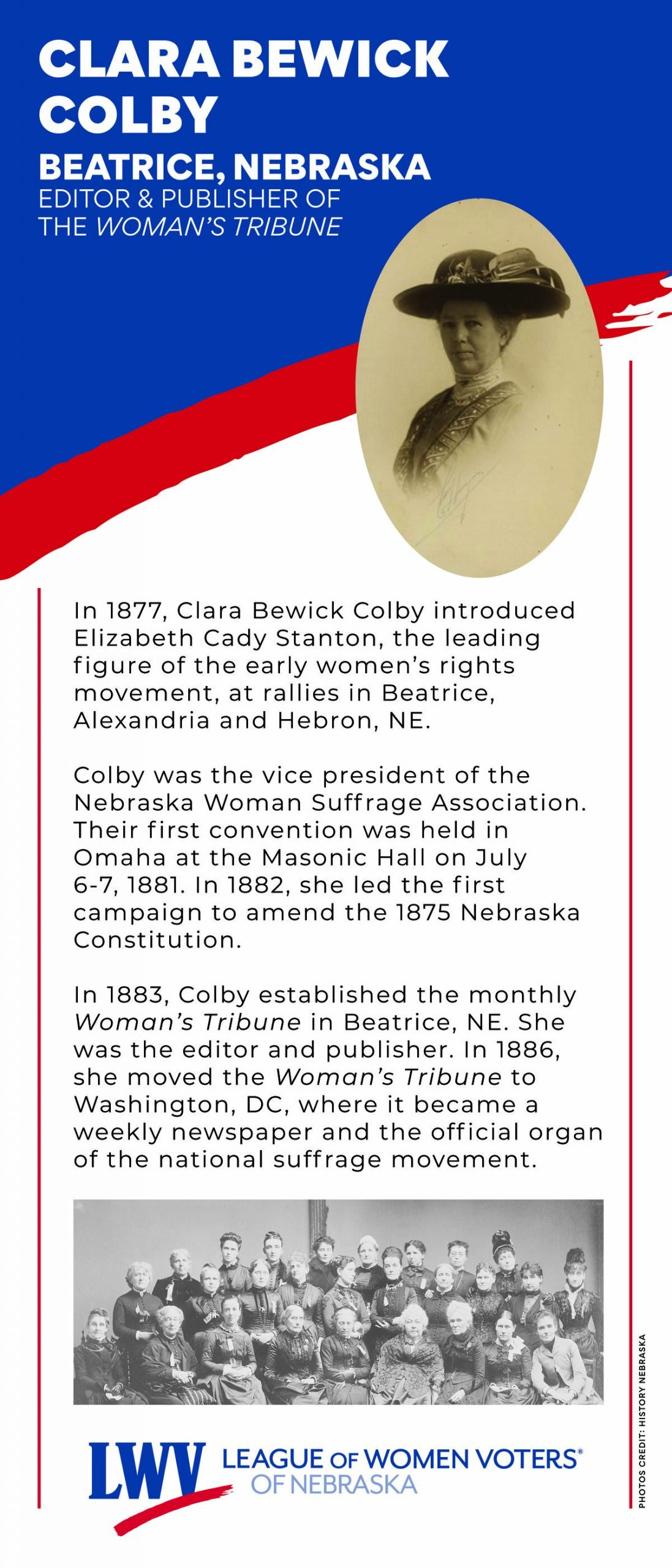 Clara Bewick Colby
