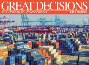 Great Decisions 2021 Book